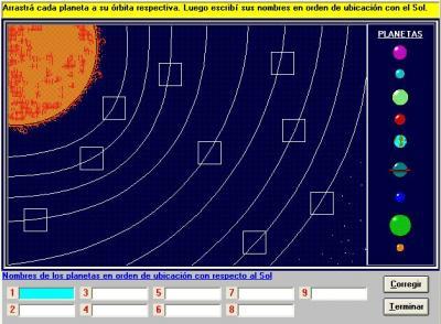 Tercer Grado - El sistema solar